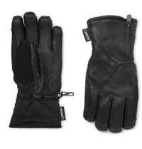 Burton Guide Leather Gore Tex And Stretch Jersey Gloves Black