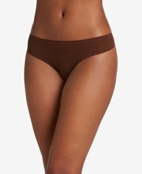 Jockey Air Seamless Thong 2147 A Macy's Exclusive Style Espresso