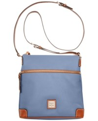 Dooney And Bourke Pebble Crossbody Dusty Blue