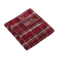 Morris And Co Woodford Plaid Towel Russet Hand Towel