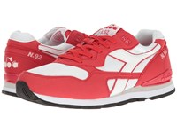 Diadora N 92 Tomato Athletic Shoes Red
