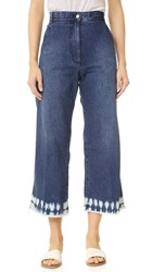 Rachel Comey Bishop Pants Tie Dye Indigo