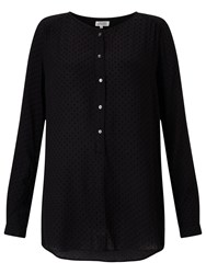 Hartford Henri Blouse Black