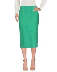 Simonetta Ravizza 3 4 Length Skirts Green