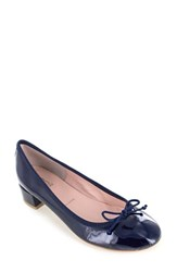 Women's Summit By White Mountain 'Mariela' Pump Navy Patent Leather