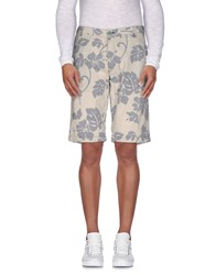South Beach Trousers Bermuda Shorts Men Beige