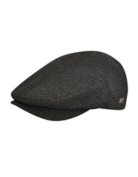 Bailey Wool Blend Newsboy Cap Black