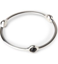 Georg Jensen Sphere Bangle With Black Agate