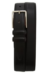 Nordstrom Men's Big And Tall Men's Shop Mercer Leather Belt Black