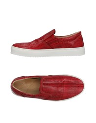 Gold Brothers Sneakers Brick Red