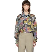 Martine Rose Multicolor Two Piece Shirt