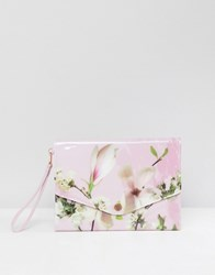 Ted Baker Tablet Case In Harmony Floral Pale Pink