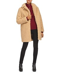 Whistles Ultimate Teddy Bear Coat Neutral