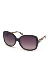 M Missoni Women's Oversized Acetate Frame Sunglasses Black