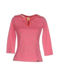 Galliano T Shirts Fuchsia