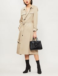 The Kooples Twill Trench Coat Bei01