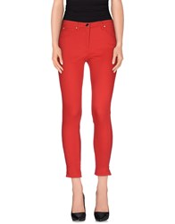 22 Maggio Trousers Casual Trousers Women Red