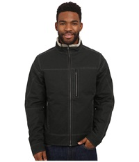 Kuhl Burr Lined Jacket Raven Men's Coat Black