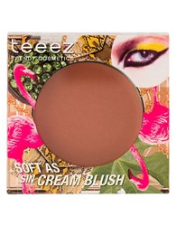 Teeez Cosmetics Soft As Sin Cream Blush Beach Glow Brown