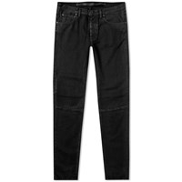 Unravel Project Waxed Skinny Jean Black