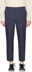 Nanamica Navy Wind Trousers