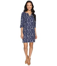 Hatley Peplum Dress Navy Women's Dress