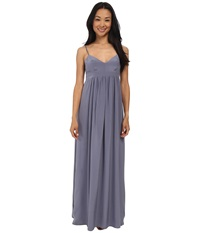 Amanda Uprichard Gown Pewter Women's Dress