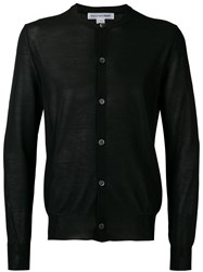 Comme Des Garcons Shirt Knitted Cardigan Men Cotton Acrylic Nylon M Black