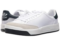 Adidas Rod Laver Super Footwear White Footwear White Collegiate Navy Men's Tennis Shoes