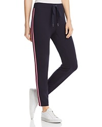 Bailey 44 Peace Lily Striped Sweatpants Midnight Petunia