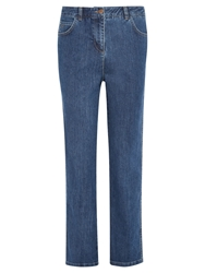 Viyella Mid Wash Straight Jeans Denim
