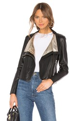 Lamarque Michelle Moto Jacket Black
