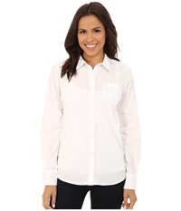 Ariat Kirby Shirt White Women's Long Sleeve Button Up