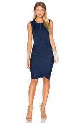 Michael Stars Eveny Bodycon Dress Navy