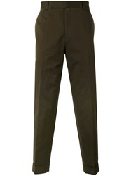 Paul Smith Loose Fit Trousers Green