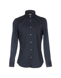 Michael Coal Shirts Dark Blue