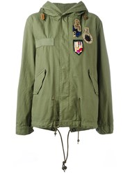 Mr And Mrs Italy Mini Patched Draparka Women Cotton Xxs Green