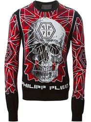 Philipp Plein 'The Ride' Sweater Red