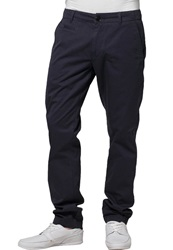 Knowledge Cotton Apparel Chinos Navy Dark Blue