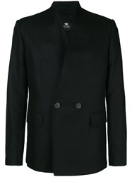 Tom Rebl Double Breasted Jacket Black
