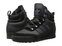 Adidas Skateboarding Jake Boot 2.0 Black Black Black Men's Lace Up Boots
