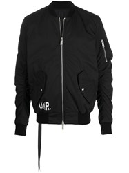 Unravel Project Printed Bomber Jacket 60
