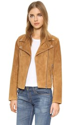 Just Female Suede Jacket Tan
