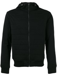 Polo Ralph Lauren Stitched Zipped Hoodie Black