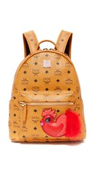 Mcm New Year Series Backpack Cognac