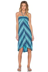 Patagonia Kamala Convertible Dress Turquoise