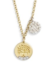 Meira T Women's Meirat 'Tree Of Life' Diamond Pendant Necklace