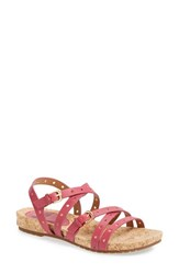 Women's Sofft 'Malana' Leather Sandal Mulberry