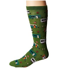 Socksmith Camptown Parrot Green Men's Crew Cut Socks Shoes