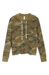 Alternative Apparel Women's Day Off Hoodie Camo